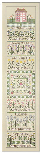 Needlepoint The Wildflower Garden 4îx19î $ 195_ Canvas