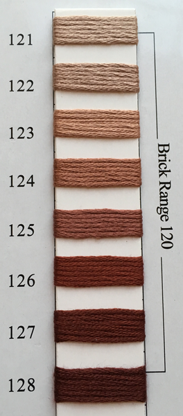 Needlepoint Inc Silk Thread Brick Range 120