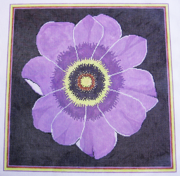 Needlepoint Wind Flower Canvas