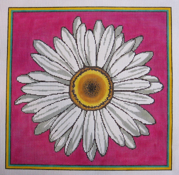 Needlepoint Daisy Canvas