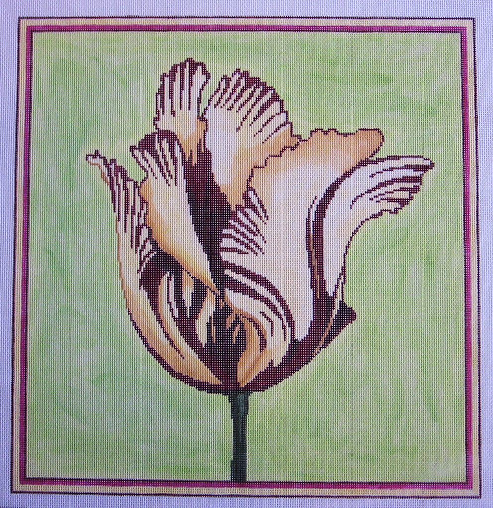 Needlepoint Tulip Canvas