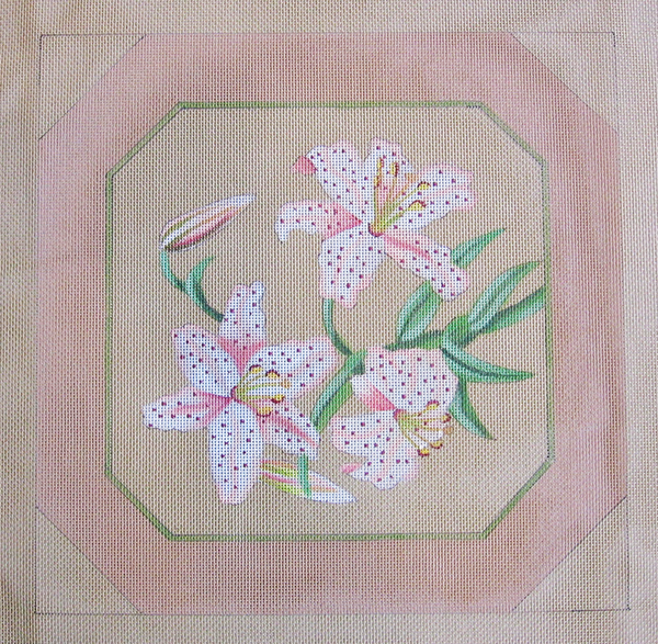 Needlepoint Cymbidium Canvas