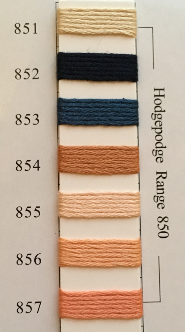 Needlepoint Inc Silk Thread Hodgepodge Range 850