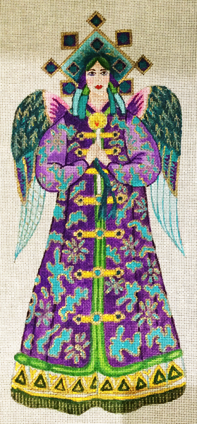 Two Sided Purple Angel