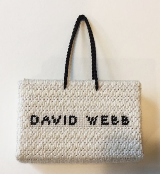 David Webb Shopping Bag
