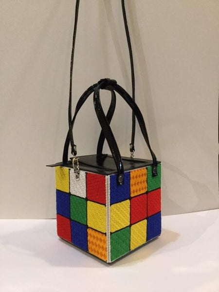 Rubik's Cube Purse