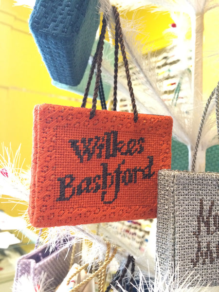Wilkes Bashford Shopping Bag Ornament