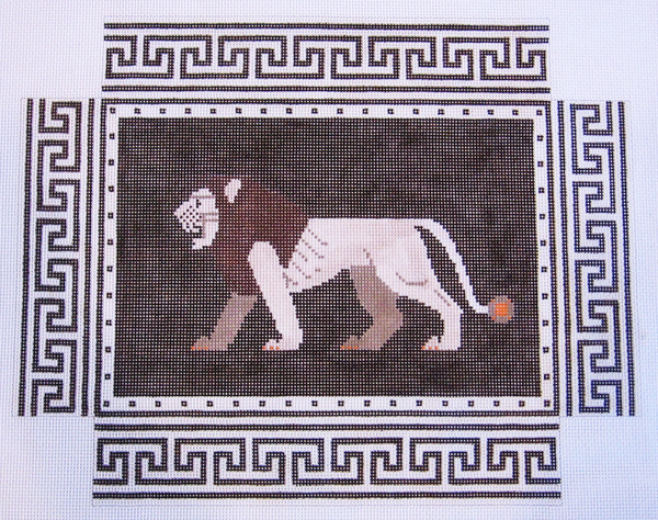 Needlepoint Lion Canvas