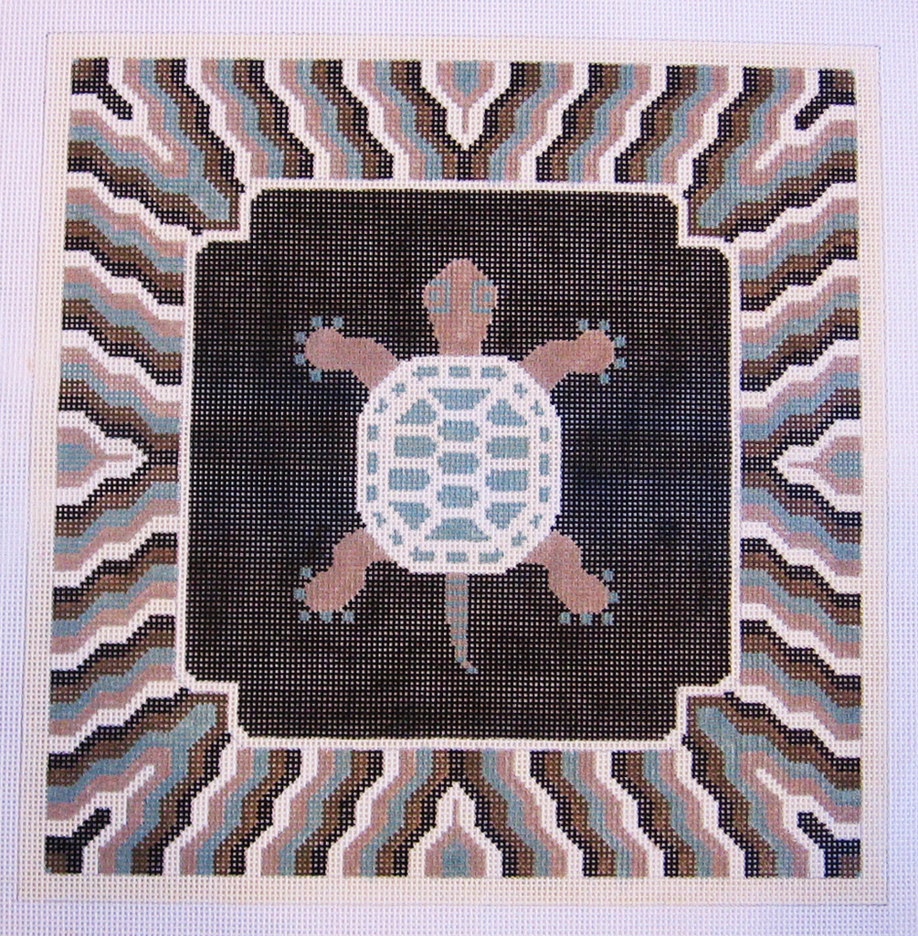 Needlepoint Turtle Canvas