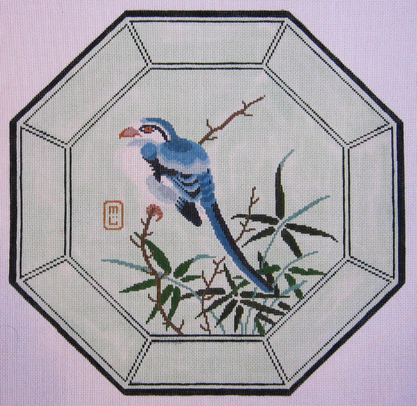 Needlepoint Blue Bird Canvas