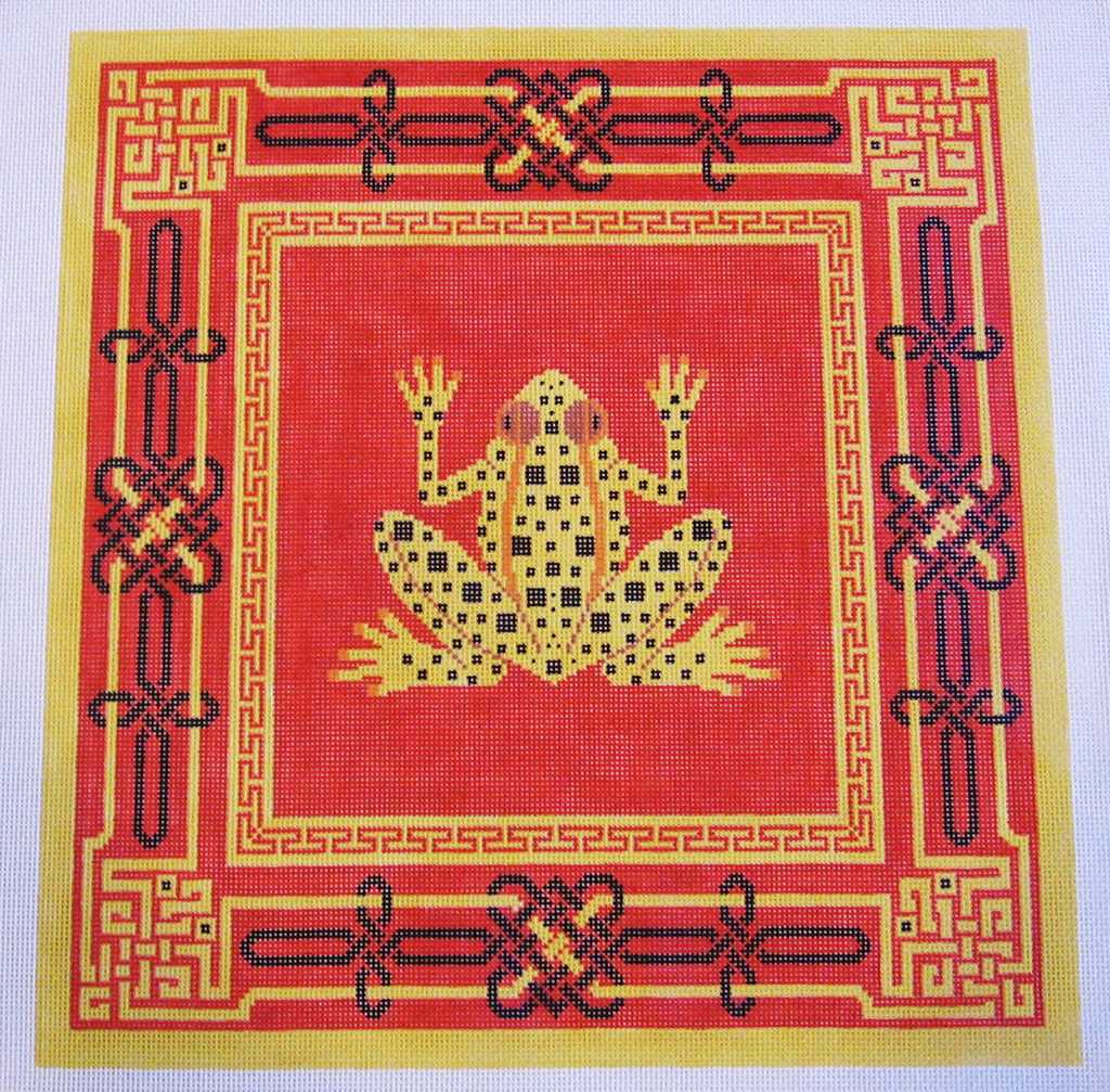 Needlepoint Frog Canvas