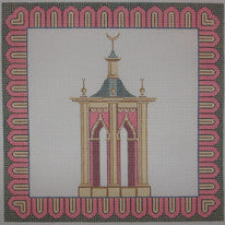 Needlepoint Pagoda Canvas