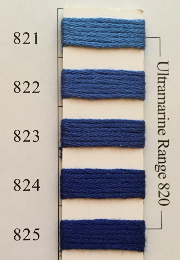 Needlepoint Inc Silk Thread Ultramarine Range 820