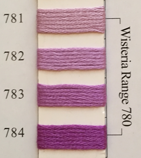Needlepoint Inc Silk Thread Wisteria Range 780