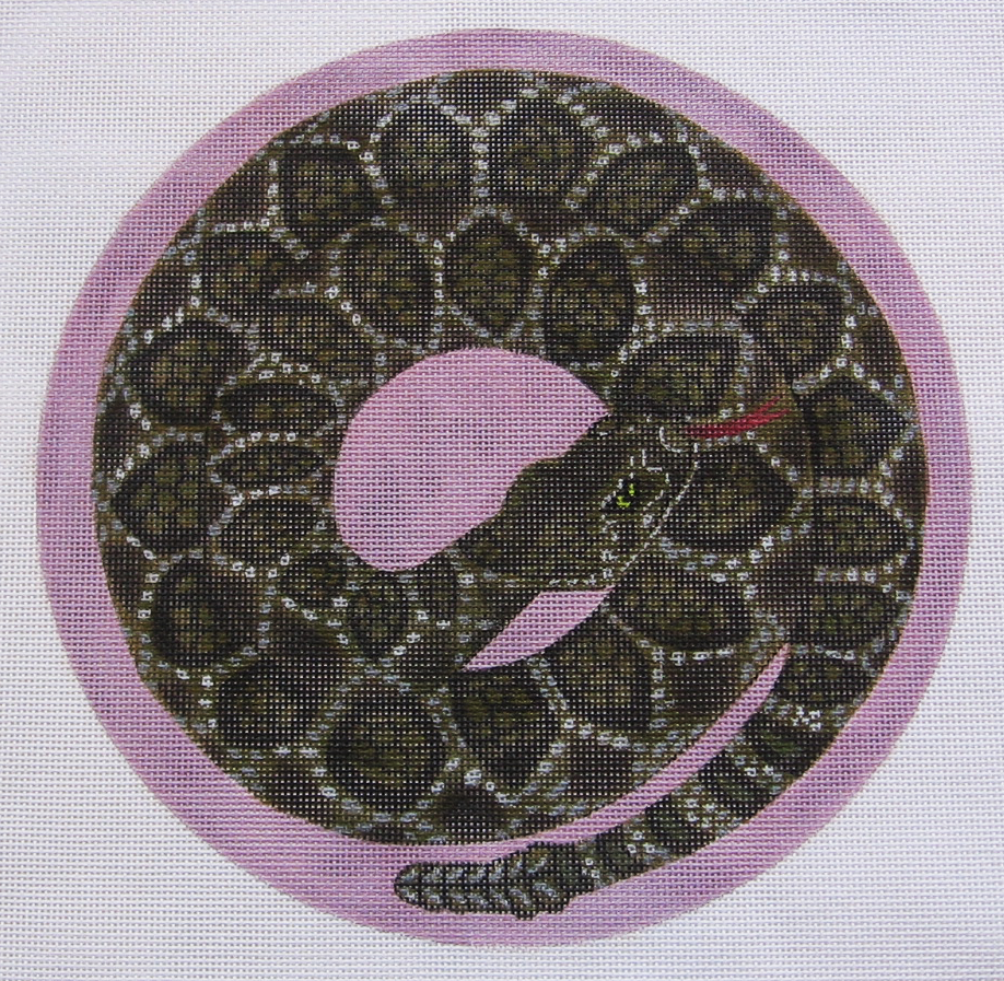 Needlepoint Snake Canvas