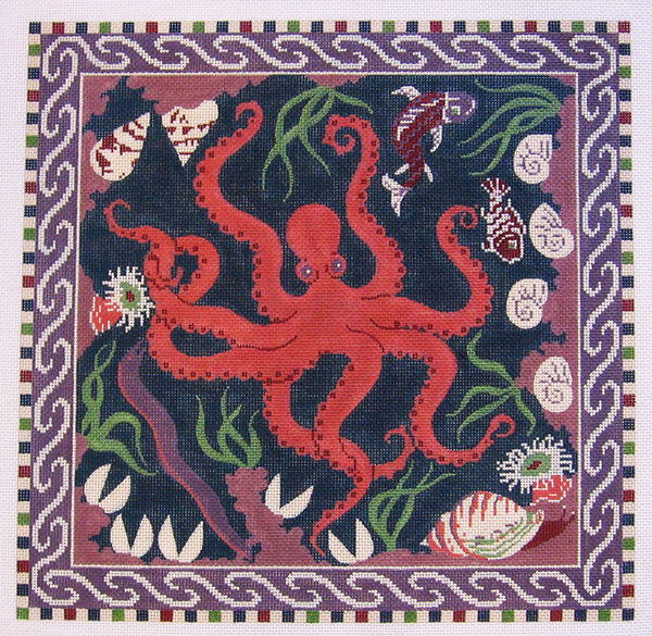 Needlepoint Octopus Canvas