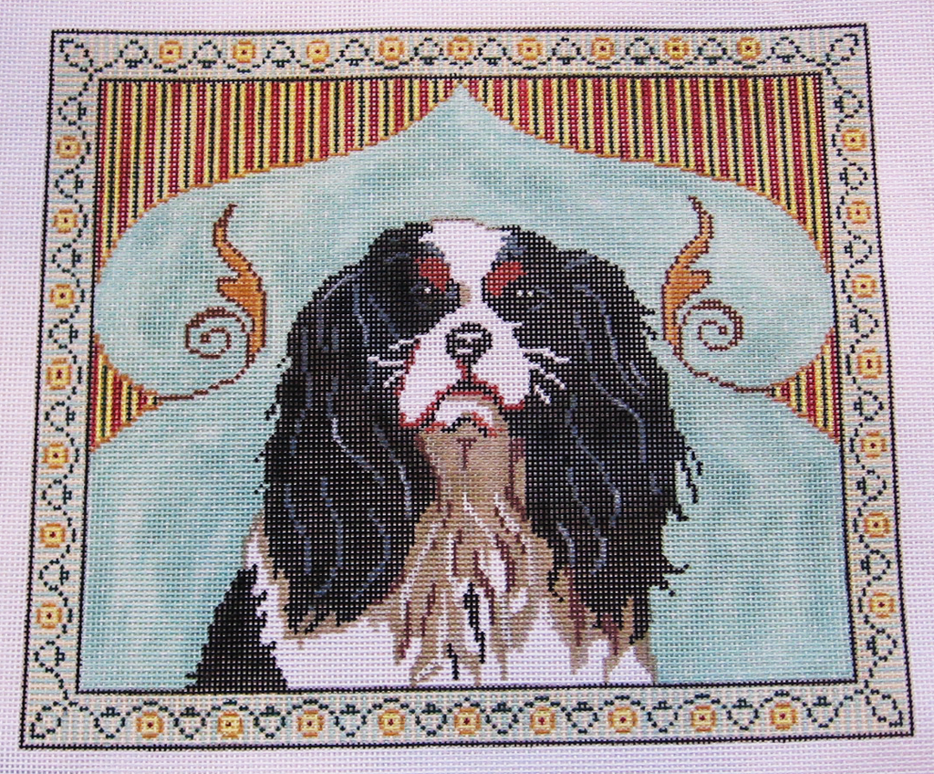 Needlepoint English Spaniel Canvas