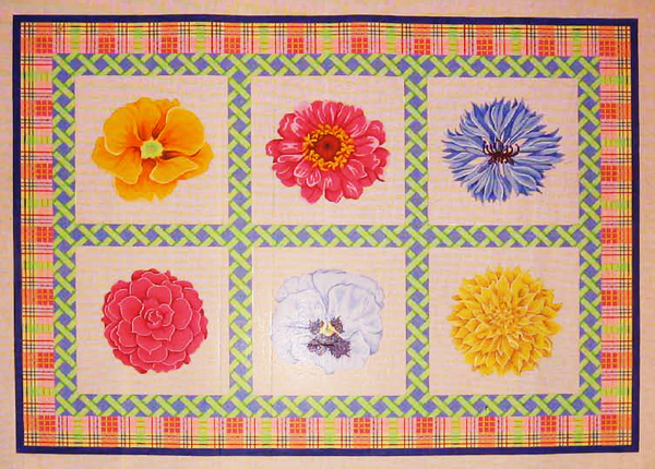 Needlepoint Floral Canvas