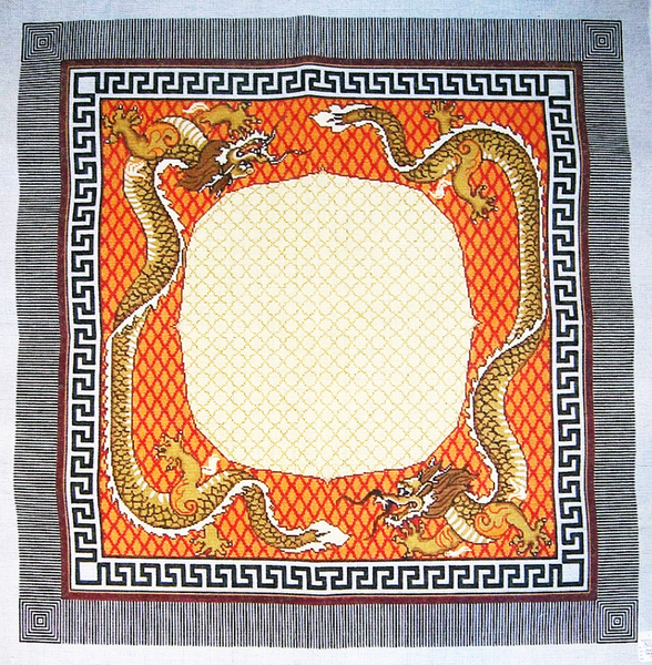 Needlepoint Dragon Canvas