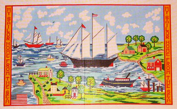 Needlepoint Sailor Canvas