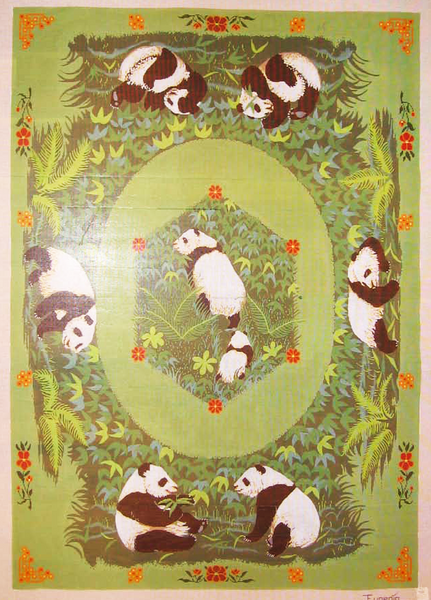 Needlepoint Panda Canvas