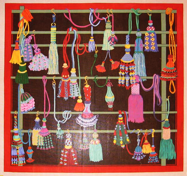 Needlepoint Tassels Canvas
