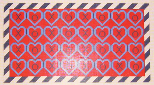 Needlepoint Hugs and Kisses Canvas