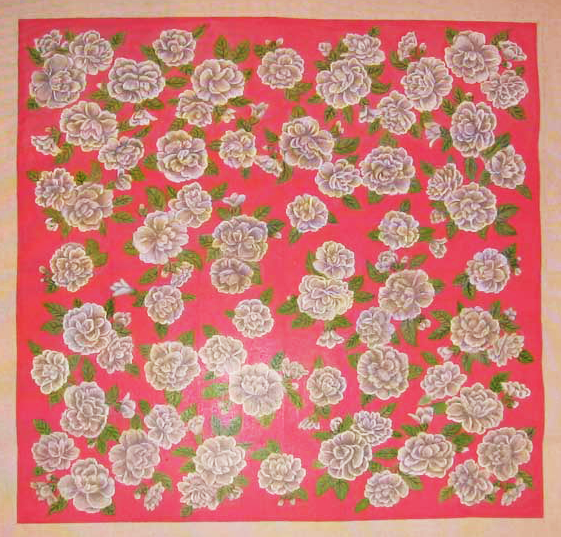 Needlepoint Camelia Rug Canvas