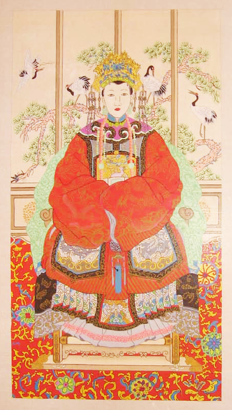 Needlepoint Empress Canvas