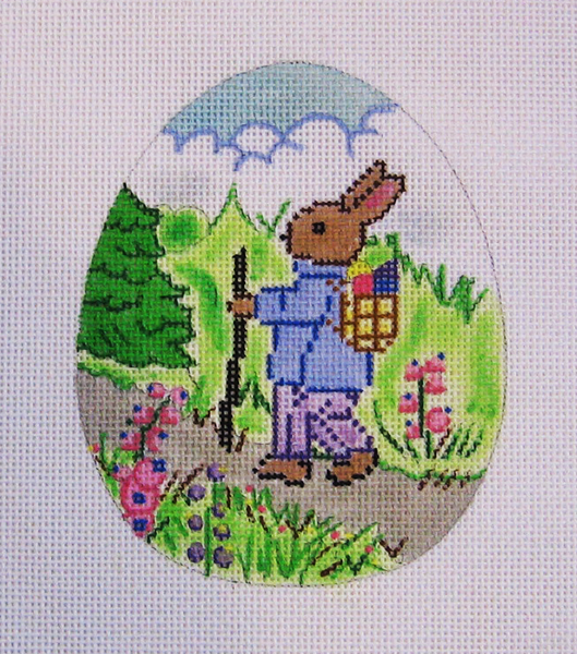 Needlepoint Easter Egg Canvas