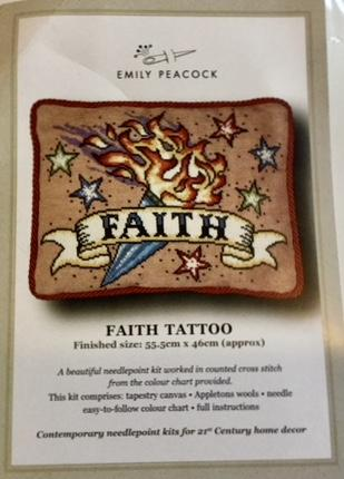 Emily Peacock Faith Tattoo Kit - Large