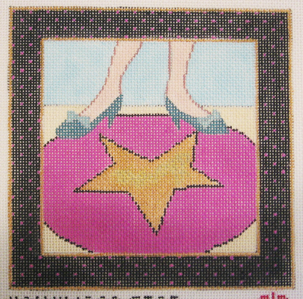 Needlepoint Hollywood Star Canvas