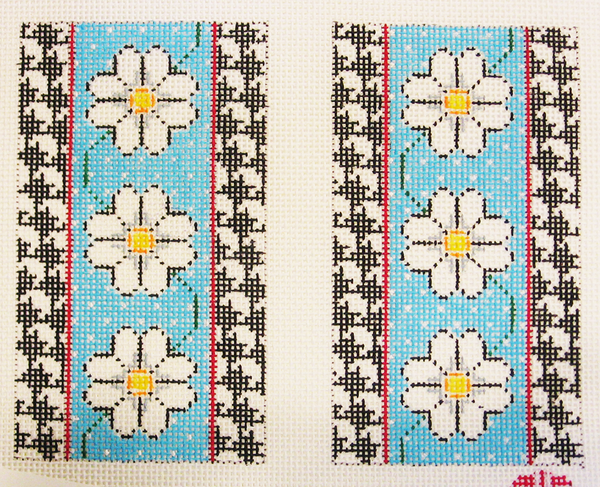 Needlepoint Daisy Eyeglass Canvas