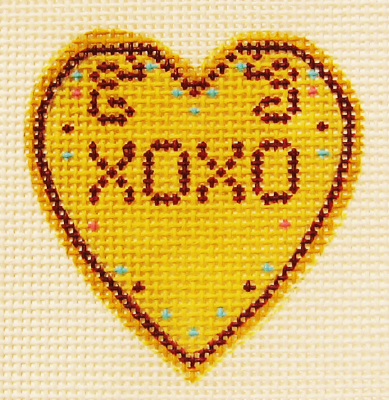 Needlepoint XOXO Canvas