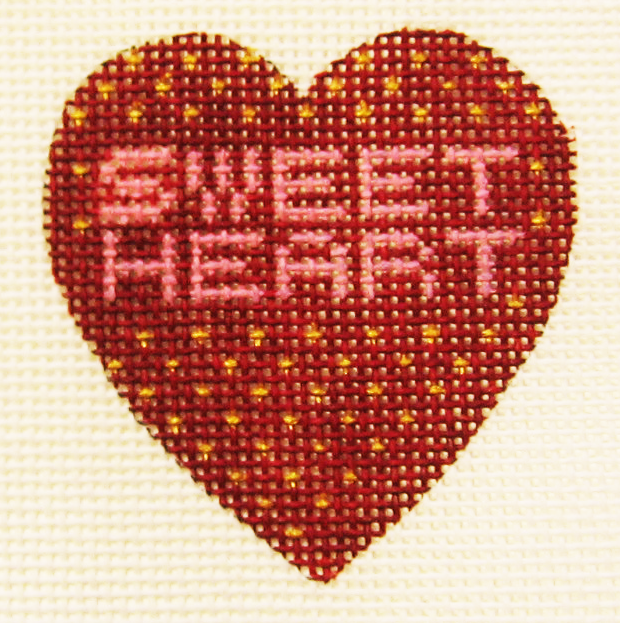 Needlepoint Sweet Heart Canvas