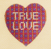Needlepoint True Love Canvas