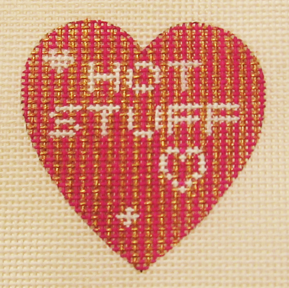 Needlepoint Hot Stuff Canvas