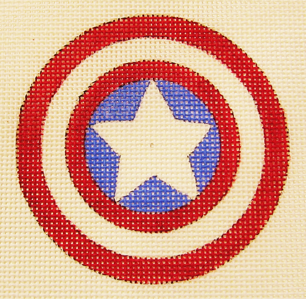 Needlepoint Captain America Canvas