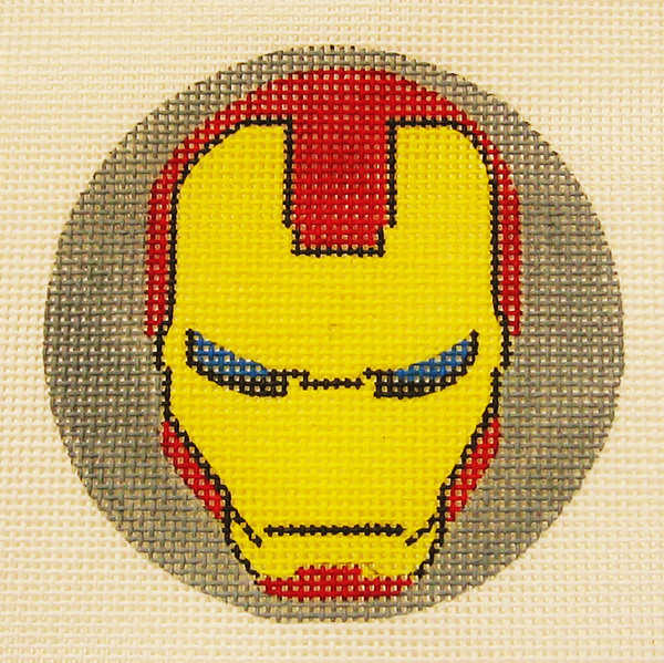 Needlepoint Iron Man Canvas