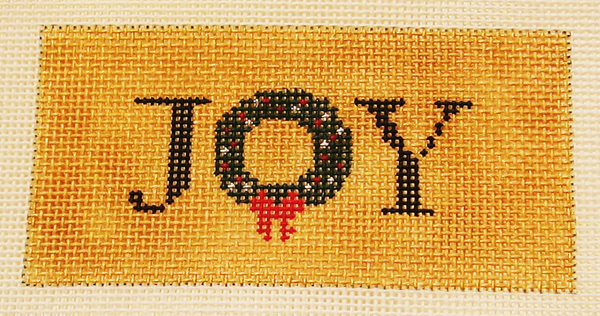 Needlepoint Joy Canvas