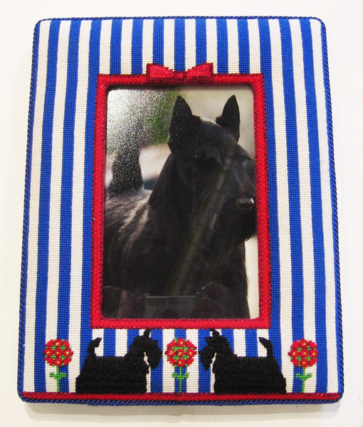 Scottie Picture Frame