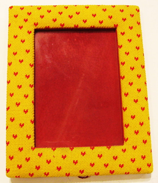 Large Red Hearts Picture Frame