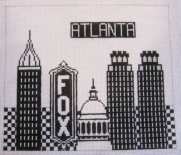 Needlepoint Atlanta Canvas