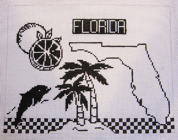 Needlepoint Florida Canvas