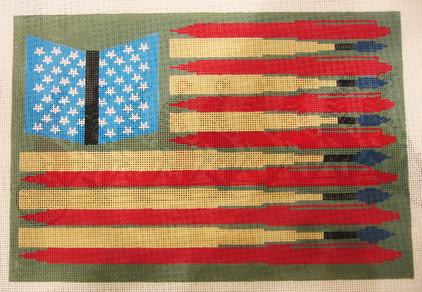 Needlepoint Americana Canvas