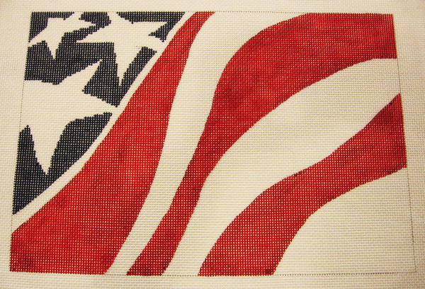 Needlepoint Flag Canvas