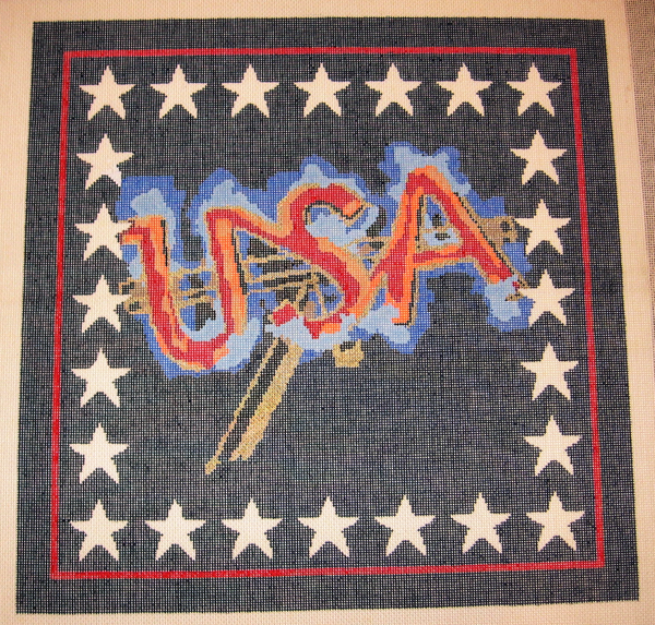 Needlepoint USA Canvas