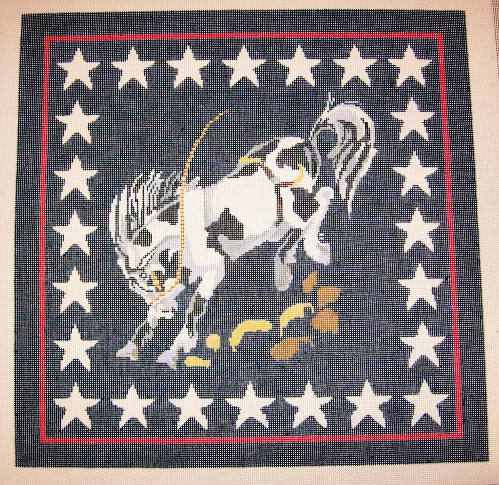 Needlepoint Horse Canvas