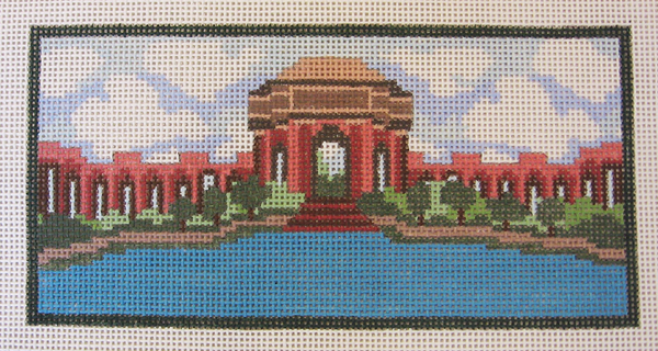 Needlepoint Palace of Fine Arts Canvas