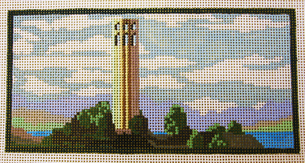 Needlepoint Coit Tower Canvas